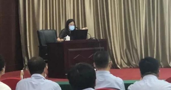 【我为群众办实事】山东弘誉律师事务所为政府专班进行网上立案培训