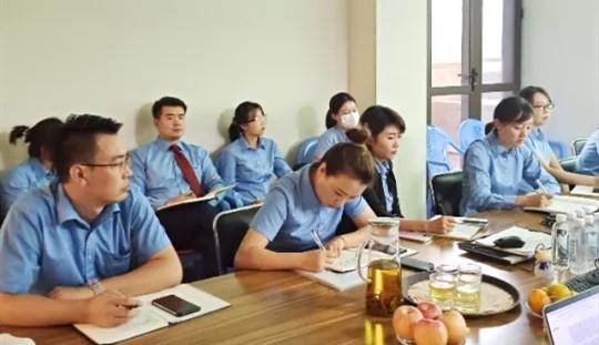 【我为群众办实事】山东齐鲁(威海)律师事务所应邀为企业授课